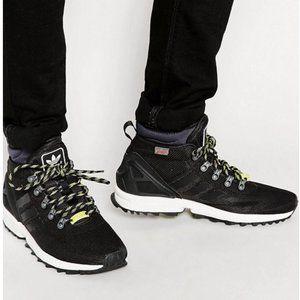 adidas Black ZX Flux Winter Sneaker Boot 11